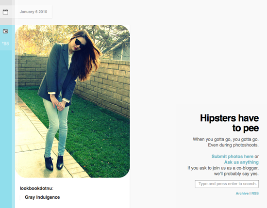 Hipsters Have To Pee