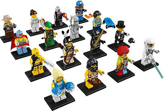 Lego Collectible Mini Figures