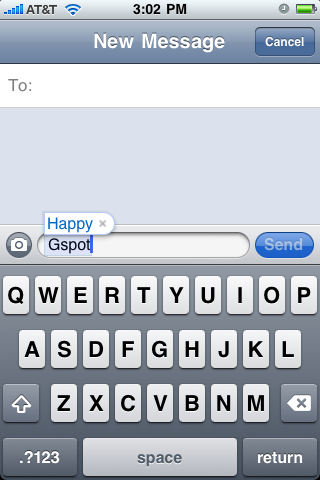 Really, iPhone?
