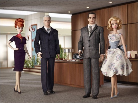 """Mad Men"" Barbie Dolls Launch"