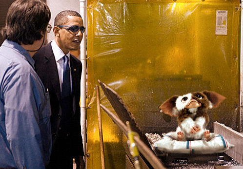 Obama With Awesome Stuff From My Childhood