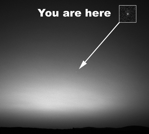 Earth, Viewed From Mars