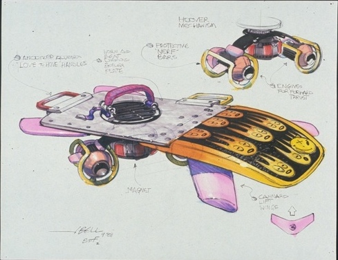 Awesome Concept Art From BTTF II