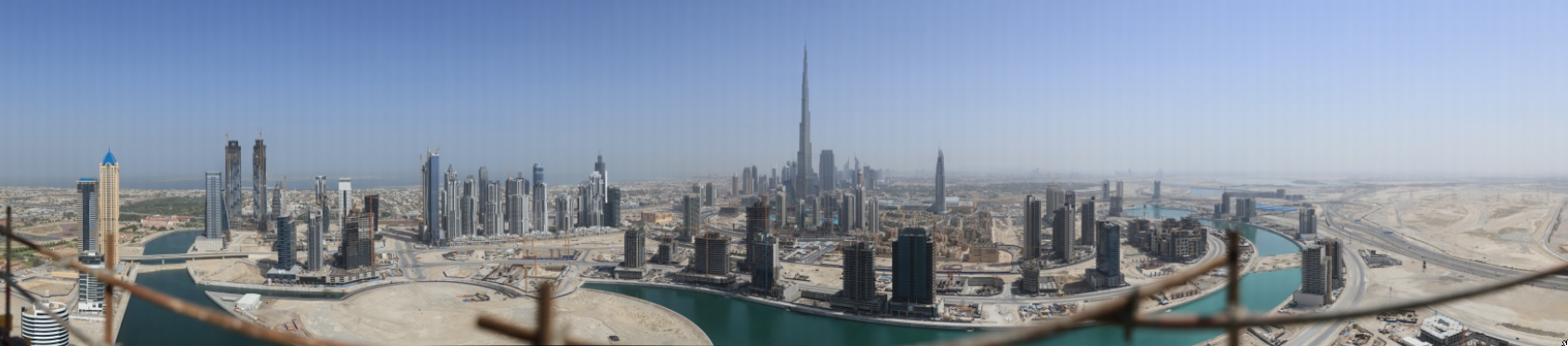 45 Gigapixel Panorama of Dubai, World's Largest Digital Photo