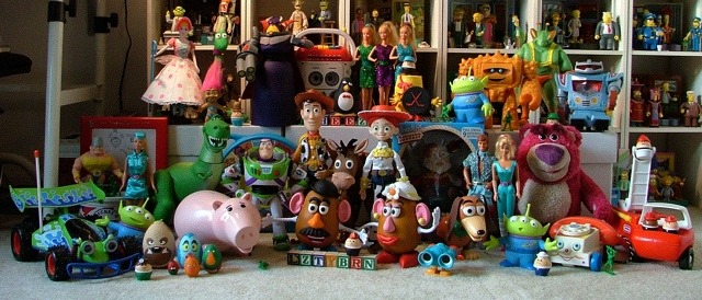 The 'Toy Story' Toys Together
