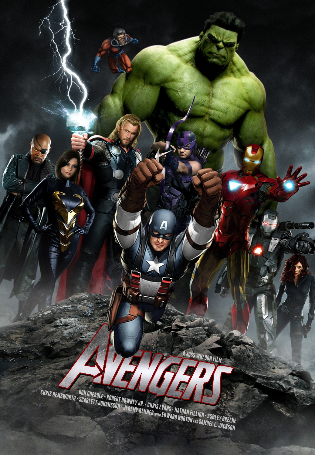 The Avengers: Fan Made Poster