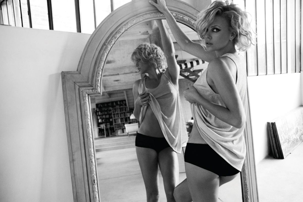 Charlize Theron For French Elle