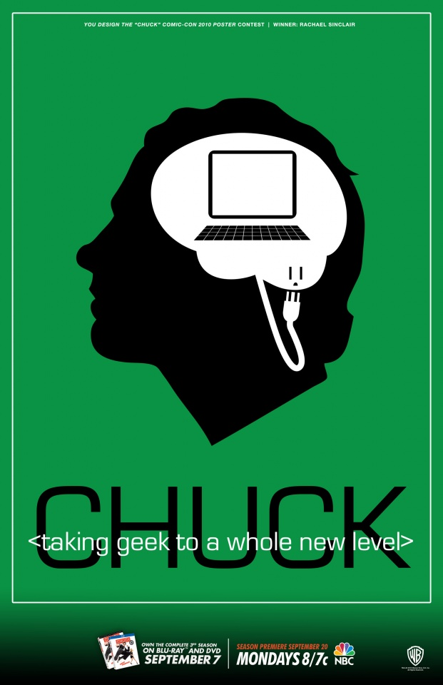 Chuck Inspired Poster