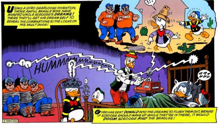 Scrooge McDuck Knew Inception Before Inception Knew Inception.