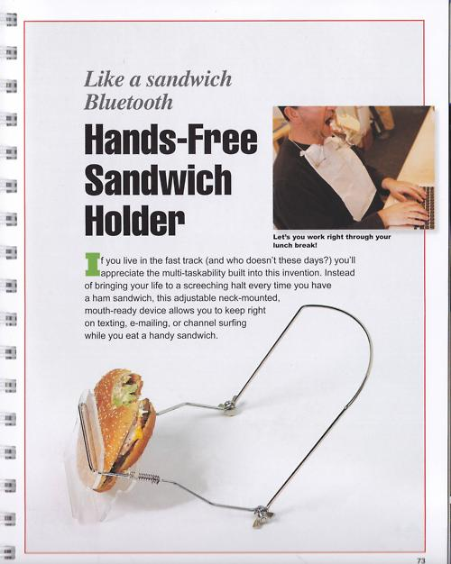 Sandwitch Holder