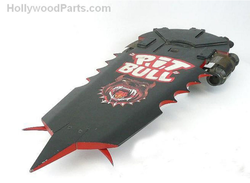 Pit Bull Hoverboard on eBay