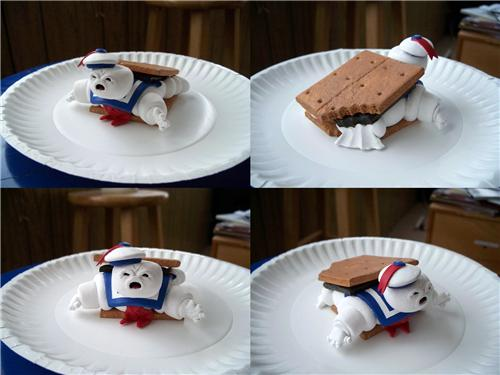 Stay Puft S'more