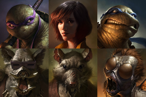 Ninja Turtles: Portraits