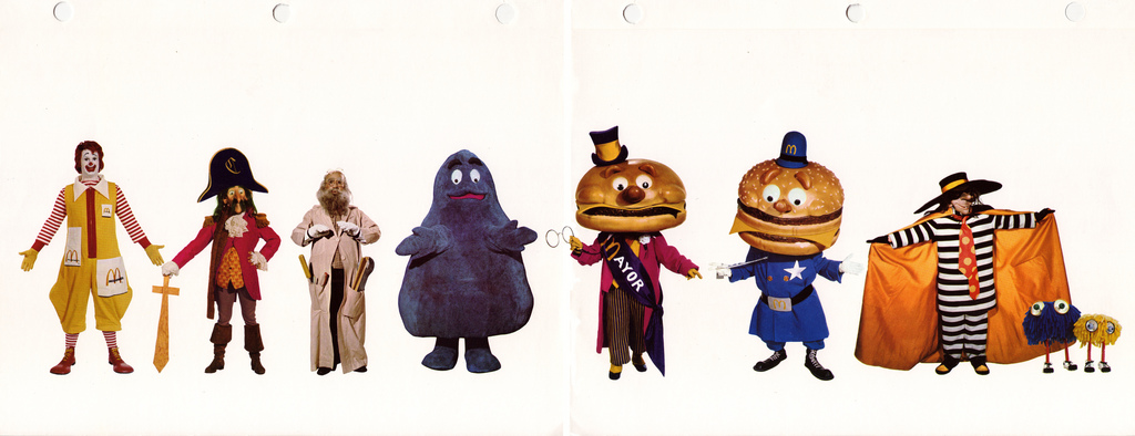 McDonaldland Specification Manual – 1970's