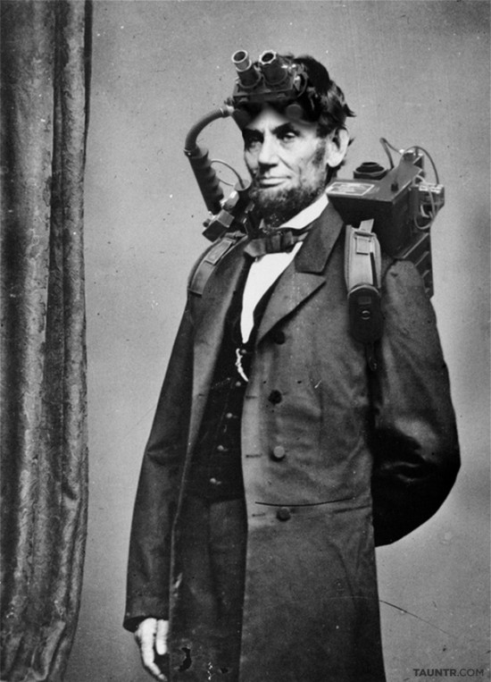 Lincoln Ghostbuster