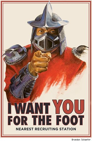 Shredder Wants You