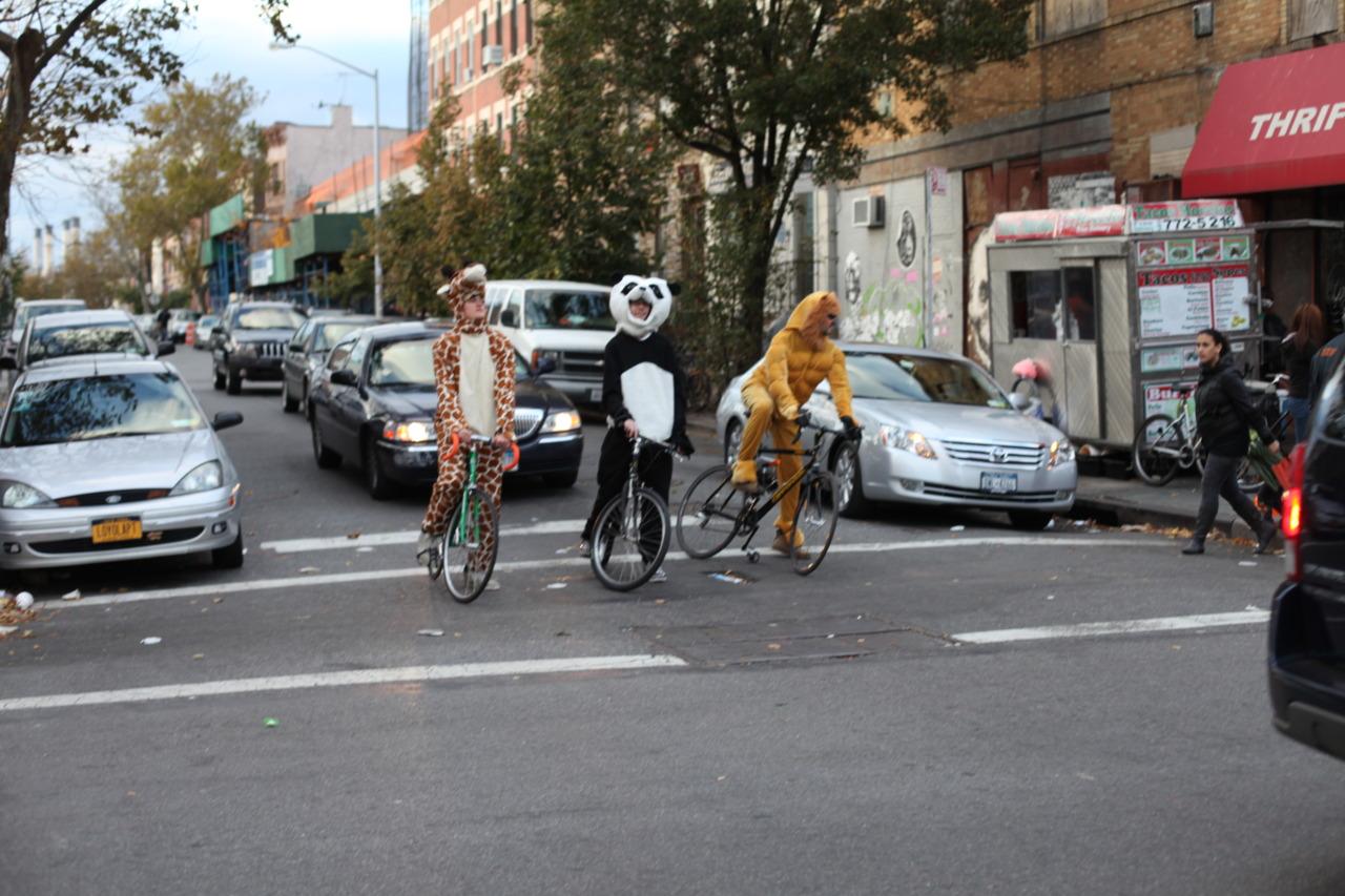 Halloween in Williamsburg