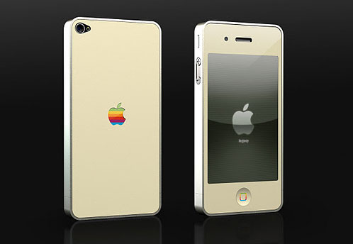 iPhone 4 legacy 128k case by Les Forges MDK