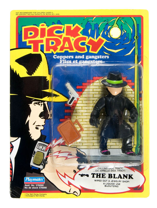 Dick Tracy 'The Blank' Figure