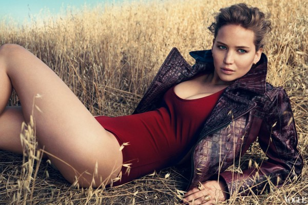 Jennifer Lawrence in Vogue
