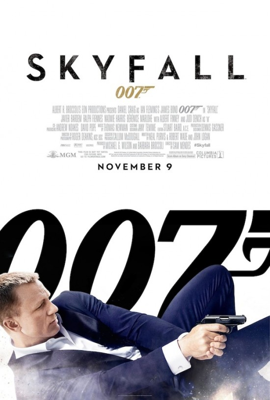 'Skyfall' Domestic Poster