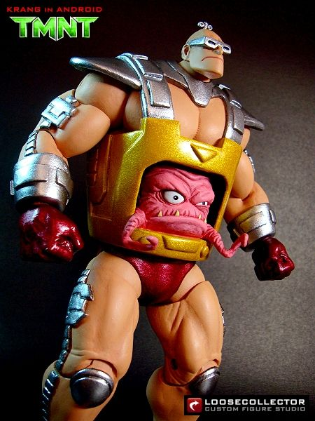 Krang in Android Custom Action Figure