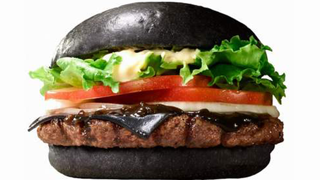 Burger King Japan Has a Black Cheese Burger